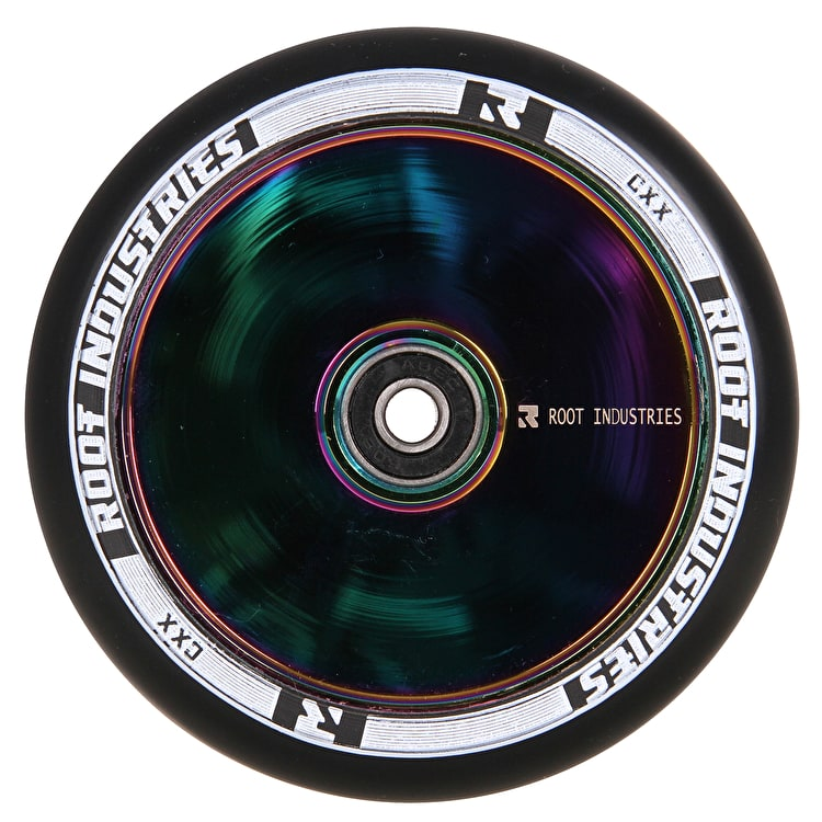 Root Industries 120mm Air Scooter Wheel - Black/Neochrome