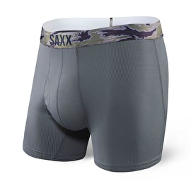 Saxx Quest Boxers - Dark Charcoal