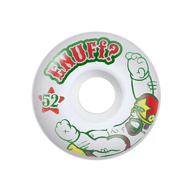 Enuff Peacekeeper Skateboard Wheels - 52mm