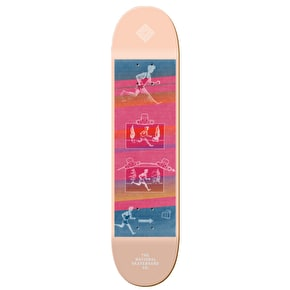 National Skateboard Co Action Skateboard Deck - 8.25
