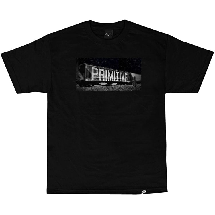 Primitive Box Car T-Shirt - Black