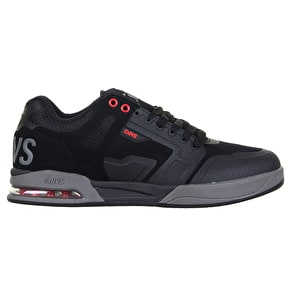 DVS Enduro X Skate Shoes - Black/Grey/Red