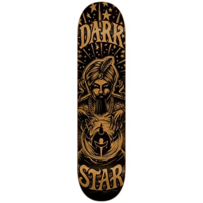 Darkstar Fortune HYB Skateboard Deck - Gold 8.25
