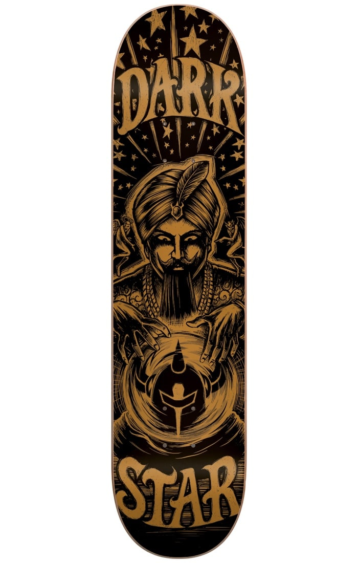 Image of Darkstar Fortune HYB Skateboard Deck - Gold 8.25""