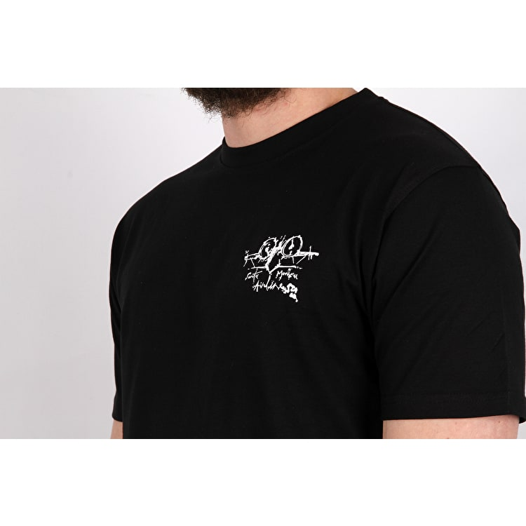 Santa Cruz Natas Evil Cat T-Shirt - Black