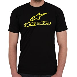 Alpinestars Ageless T-Shirt - Black/Hi Vis Yellow