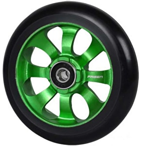 Fasen 8 Spokes Wheel 110mm Green Black