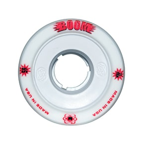 ATOM Boom Hollow Core 59mm Quad Derby Wheels (4pk) White (XXFirm)