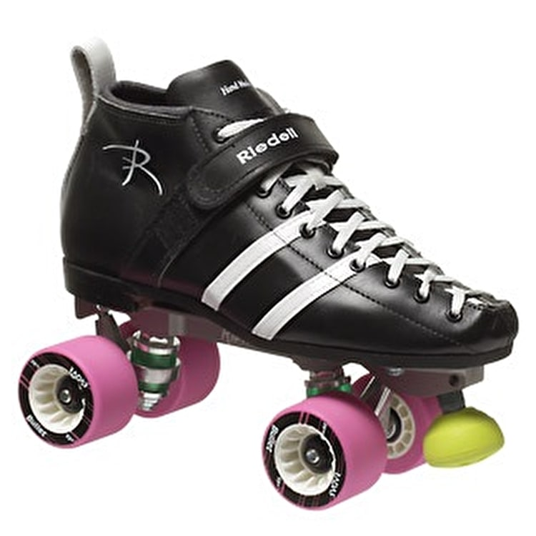 Riedell Wicked 265 Derby Skates - Black