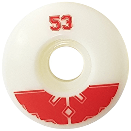 Fracture Uni Pro 100a Skateboard Wheels - Red 53mm
