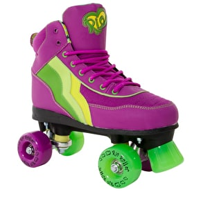 Rio Roller Quad Roller Skates - Grape