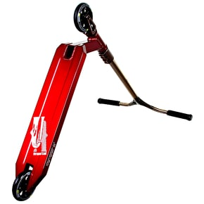 UrbanArtt Custom Scooter - Red/Trans Orange