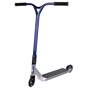 UrbanArtt Complete Custom Scooter - Chrome/Blue