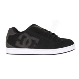 DC Net SE Skate Shoes - Black/Black/Grey