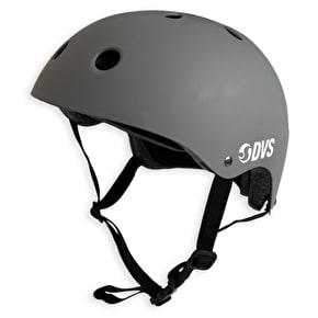 B-Stock DVS Logo Helmet - Grey/White - 58-61cm (Box Damage)
