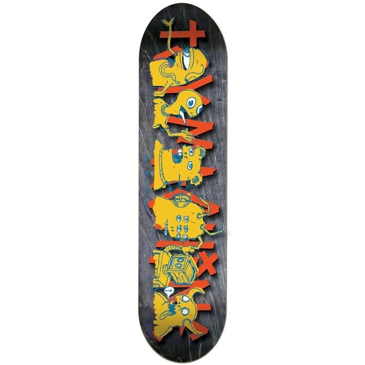 Toy Machine The Crew Team Skateboard Deck - 8.5""