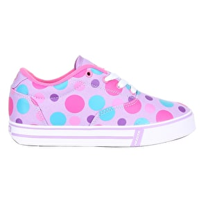 Heelys Launch - Lilac/Multi Polka Dot