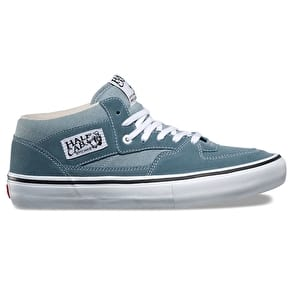 Vans Half Cab Pro Skate Shoes - Goblin Blue/White