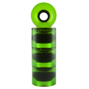 Penny Transparent Wheels - Green 59mm