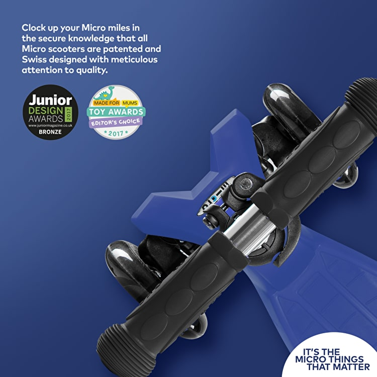 Maxi Micro T-Bar Scooter - Blue