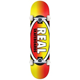 Real Oval Fades Complete Skateboard