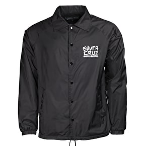 Santa Cruz Dressen Hand Coach Jacket - Black