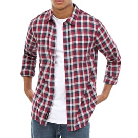 Vans Alameda II Shirt - Rhumba Red/Dress Blues