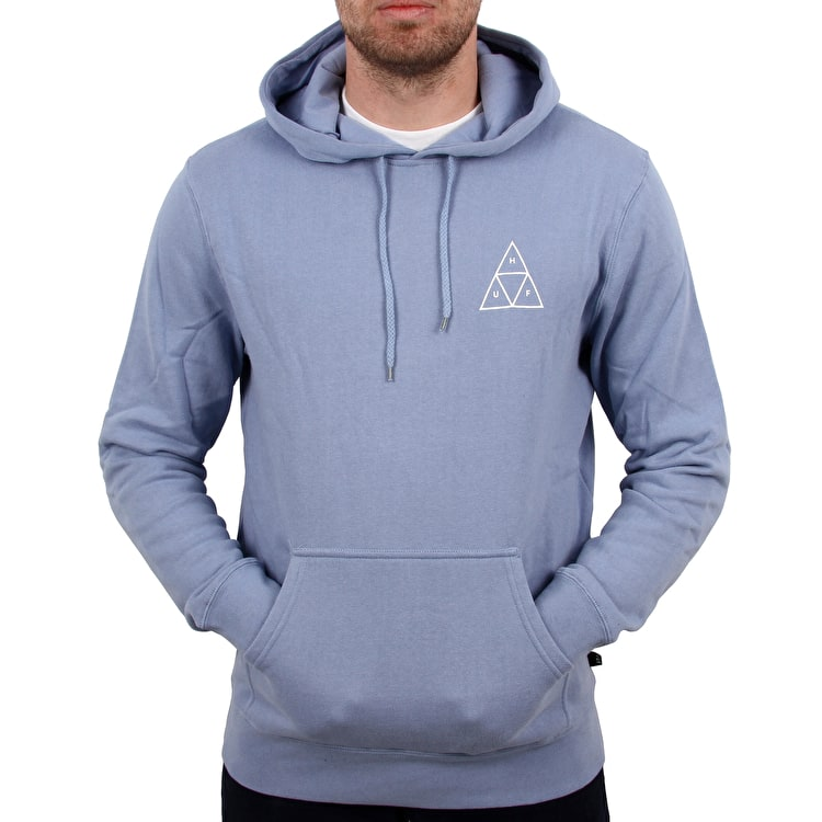 Huf Essentials TT Pullover Hoodie - Forever Blue