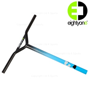 81 Customs Fubar TEAM Scooter Bars - Blue
