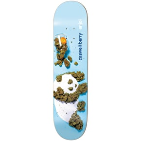Enjoi Premium Panda Slick Skateboard Deck - Berry 8.25
