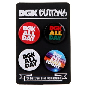 DGK All Day (4pk) Buttons