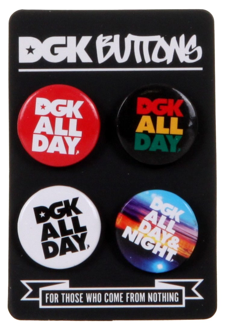 Image of DGK All Day (4pk) Buttons