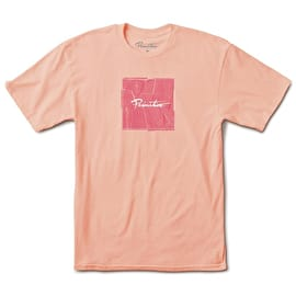 Primitive Island Veneer Box T-Shirt - Salmon