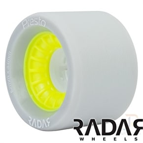 RADAR Presto Wheels 91A Slim- Yellow 62mm