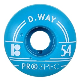 Plan B Skateboard Wheels - Pro Spec Way 54mm (Pack of 4)