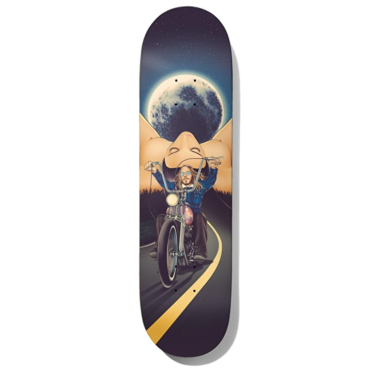 Baker Moon Child - Hawk Skateboard Deck 8.25""