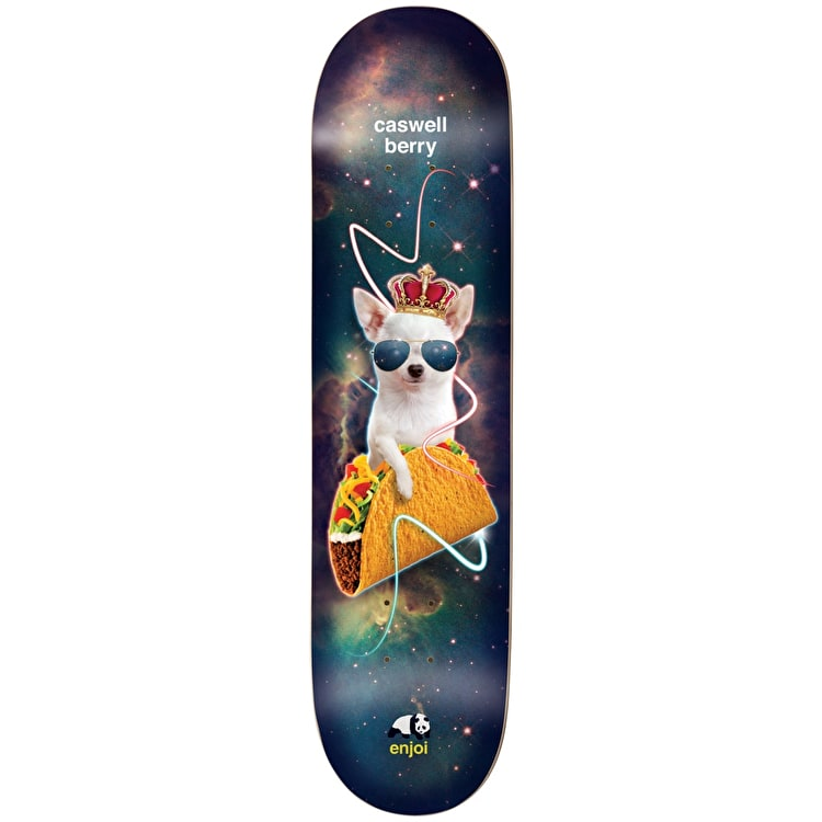 Enjoi Skateboard Deck - Snack Surfers V2 Impact Light Berry 8""