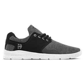 Etnies Scout XT Skate Shoes - Black/Grey/Silver