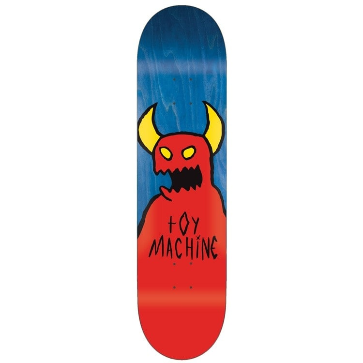 Toy Machine Sketchy Monster Team Skateboard Deck - 9""
