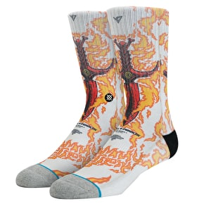 Stance Guerrero Socks - Orange