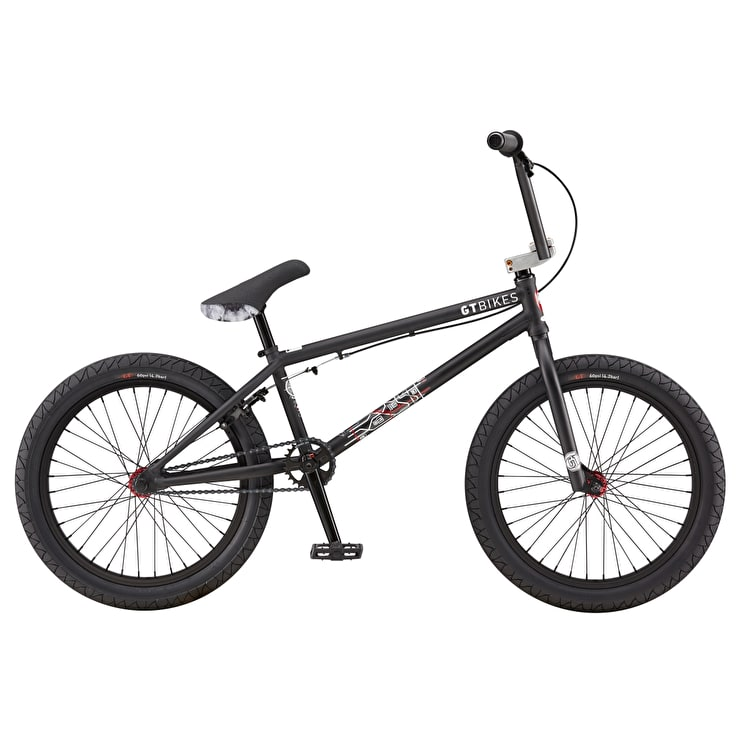 "GT 20"" Team 2019 Complete BMX - Black"