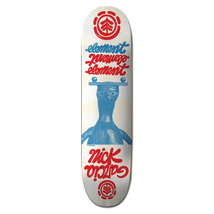 Element Skateboard Deck - Bronze Featherlight Garcia 8""