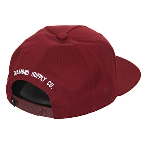 Diamond Brilliant Cap - Burgundy