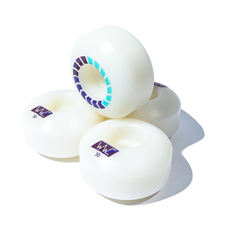 Wayward Revron Round Cut Skateboard Wheels - Grape 50mm