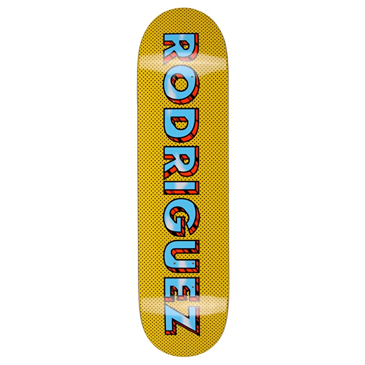 Primitive Pop Art Skateboard Deck - Rodriguez 8.1""
