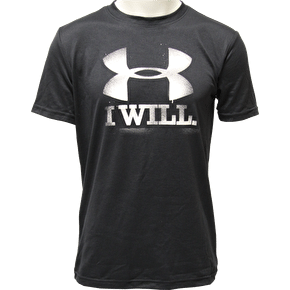 Under Armour CC Contender T-Shirt Black/White