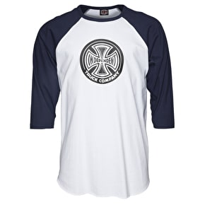 Independent 88 TC Baseball T-Shirt - Navy/White