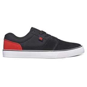 DC Tonik Skate Shoes - Black/Red/White