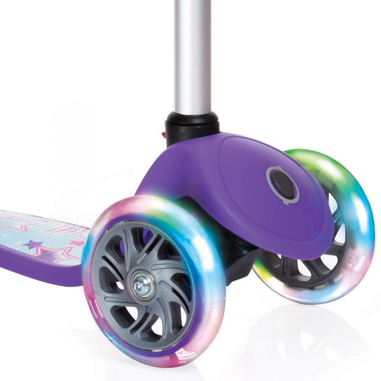Globber My Free Primo Fantasy Lights Complete Scooter - Stars