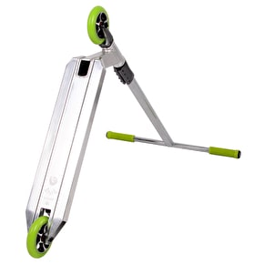 UrbanArtt Custom Scooter - Chrome/Lime